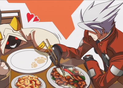 Blazblue, Taokaka, Ragna the Blood Edge - related desktop wallpaper