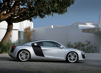 cars, Audi R8, German cars - random desktop wallpaper