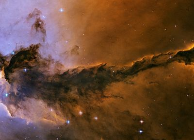 outer space, nebulae, Eagle nebula - random desktop wallpaper