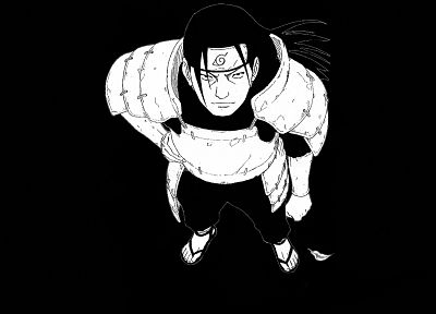 Naruto: Shippuden, Hashirama Senju, 1st Hokage, simple background - desktop wallpaper