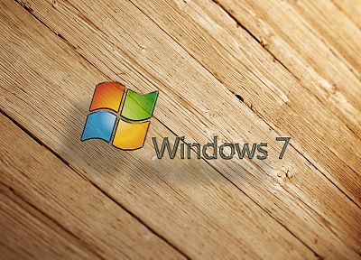 Windows 7, logos - desktop wallpaper