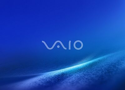 computers, logos, Sony VAIO - desktop wallpaper