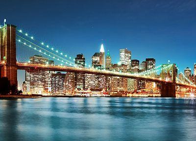 bridges, New York City, TagNotAllowedTooSubjective - random desktop wallpaper