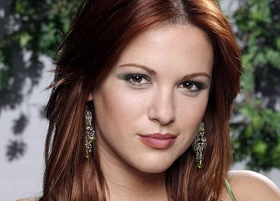 women, Danneel Harris, earrings, faces - random desktop wallpaper
