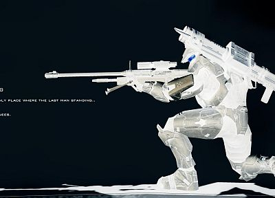 Halo, Master Chief, snipers - desktop wallpaper