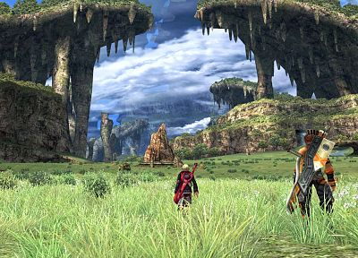 Nintendo, video games, xenoblade - related desktop wallpaper