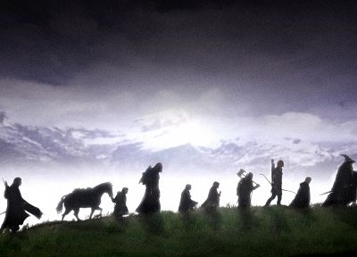 The Lord of the Rings, The Fellowship of the Ring - random desktop wallpaper