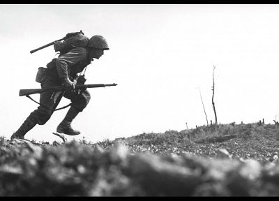 soldiers, war, World War II, okinawa, Iwo Jima - random desktop wallpaper