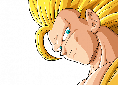Son Goku, anime, Dragon Ball Z, simple background - related desktop wallpaper