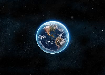 outer space, stars, planets, Earth - related desktop wallpaper