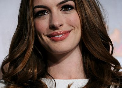 women, Anne Hathaway - random desktop wallpaper
