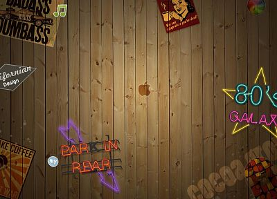 artistic, wood, wall, signs - random desktop wallpaper