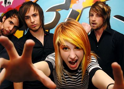 Hayley Williams, Paramore, women, music, redheads, celebrity, singers, music bands, band - related desktop wallpaper