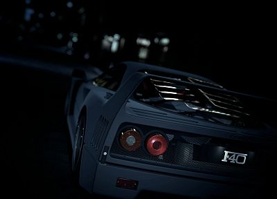 cars, Kyoto, vehicles, Ferrari F40, Gran Turismo 5 - desktop wallpaper