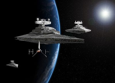 Star Wars, stars, Star Destroyer - random desktop wallpaper
