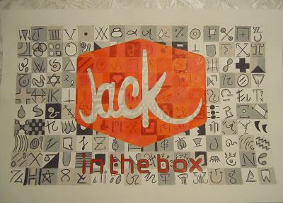 Jack in the Box, artwork, drawings - desktop wallpaper