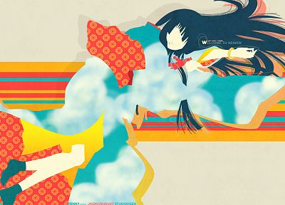 Jigoku Shoujo, Enma Ai, Japanese clothes - random desktop wallpaper