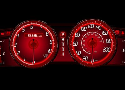 cars, dashboards, speedometer - random desktop wallpaper