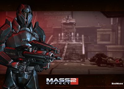 video games, BioWare, Mass Effect 2 - related desktop wallpaper