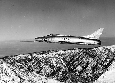 aircraft, military, F-100 Super Sabre - related desktop wallpaper