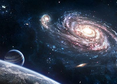 outer space, galaxies - related desktop wallpaper