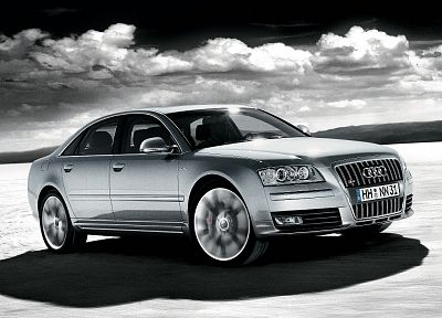 Audi, HDR photography, 2008, Audi A8L - random desktop wallpaper