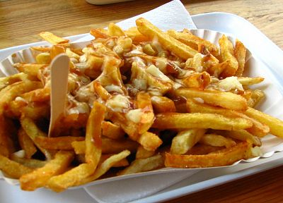 food, french fries, poutine - random desktop wallpaper