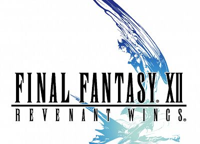 Final Fantasy XII, white background - desktop wallpaper