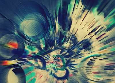 abstract, blue, multicolor, circles, weird, artwork, TagNotAllowedTooSubjective - related desktop wallpaper