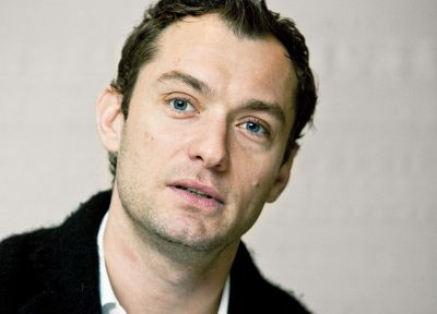 blue eyes, men, actors, Jude Law - related desktop wallpaper