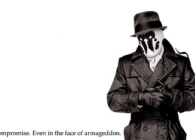 Watchmen, DC Comics, comics, Rorschach - random desktop wallpaper