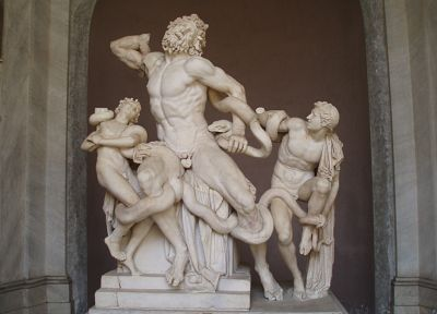 penis, sculptures, nude, marbles, Laocoön and His Sons - random desktop wallpaper