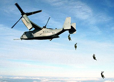 aircraft, military, V-22 Osprey - related desktop wallpaper