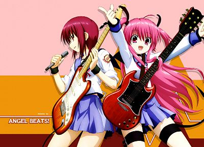 Angel Beats!, Yui (Angel Beats), Iwasawa Masami - random desktop wallpaper