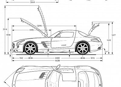 cars, schematic - random desktop wallpaper