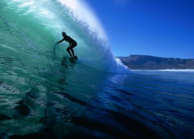waves, sports, surfing, oceans, surfers, beaches - related desktop wallpaper