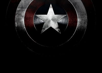Captain America, shield, Marvel Comics - random desktop wallpaper