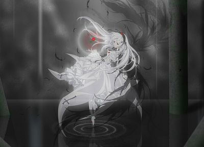 Rozen Maiden, Suigintou, anime girls - related desktop wallpaper