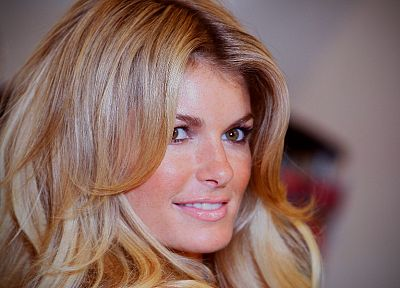 blondes, women, close-up, models, Marisa Miller, celebrity, faces - related desktop wallpaper