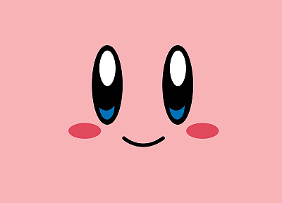 Nintendo, Kirby, video games, faces - desktop wallpaper