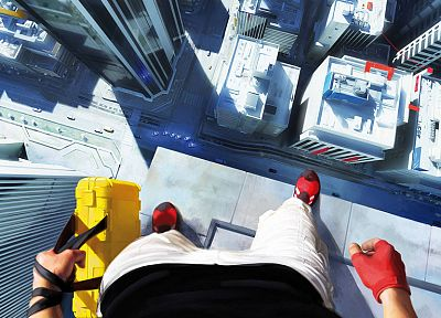 video games, Mirrors Edge, case, Faith Connors - random desktop wallpaper