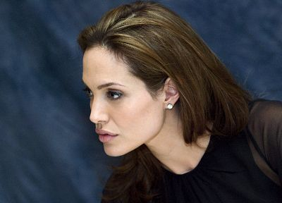 women, Angelina Jolie, celebrity, faces - related desktop wallpaper