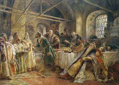 paintings, Konstantin Makovsky - random desktop wallpaper