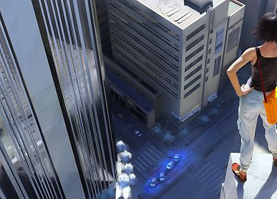 video games, Mirrors Edge, concept art, 3D - related desktop wallpaper