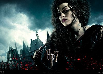 actress, Harry Potter, Helena Bonham Carter, Harry Potter and the Deathly Hallows, Bellatrix Lestrange, Death Eaters - related desktop wallpaper