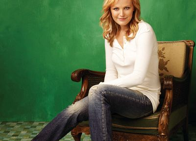 women, jeans, Malin Akerman - random desktop wallpaper