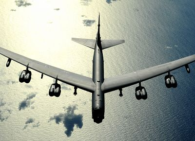 aircraft, military, bomber, B-52 Stratofortress, United States Air Force, vehicles - related desktop wallpaper