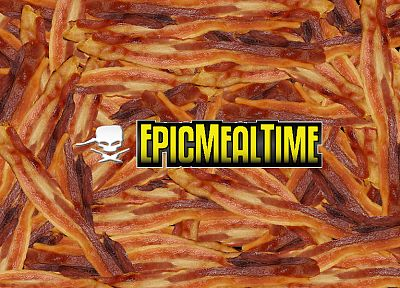 bacon, Epic Meal Time - desktop wallpaper