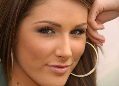 women, Lucy Pinder, faces - desktop wallpaper
