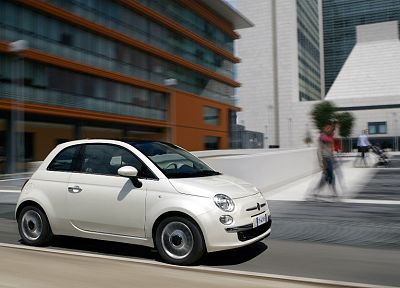 cars, Fiat, vehicles, Fiat 500, widescreen - random desktop wallpaper